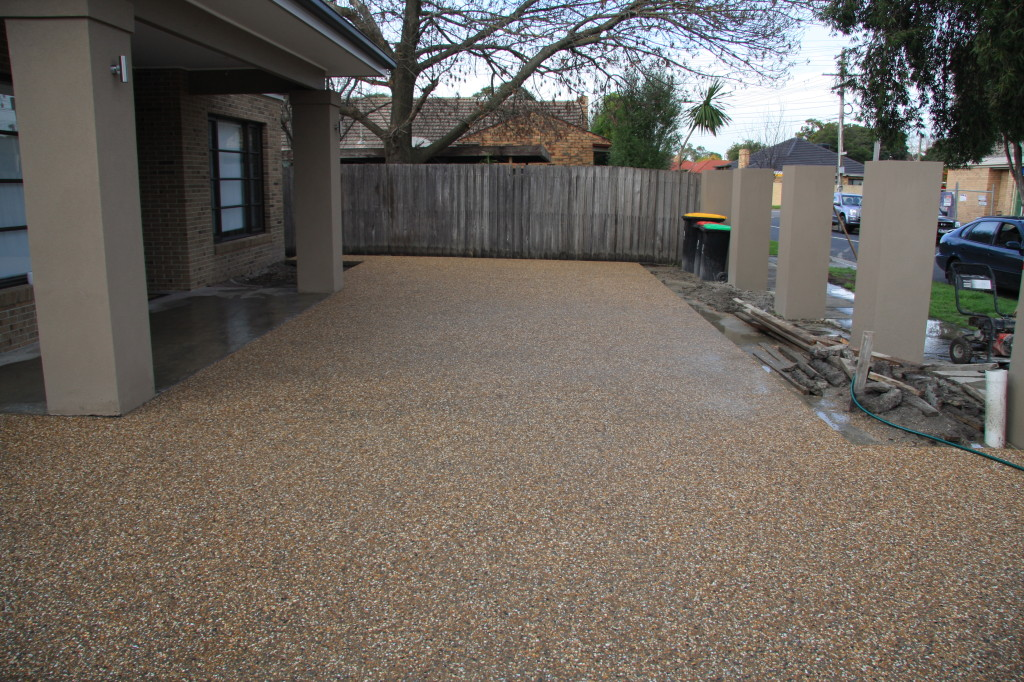 Exposed Aggregate Concrete Driveway Solution Moremac